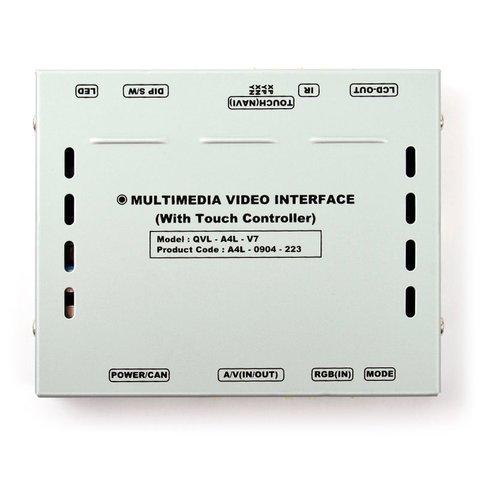 Автомобильный видеоинтерфейс для Audi без системы MMI (с поддержкой внешнего сенсорного стекла) Превью 1