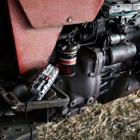 Интеллектуальное зарядное устройство G3500EU для 6 В и 12 В аккумуляторов Превью 4