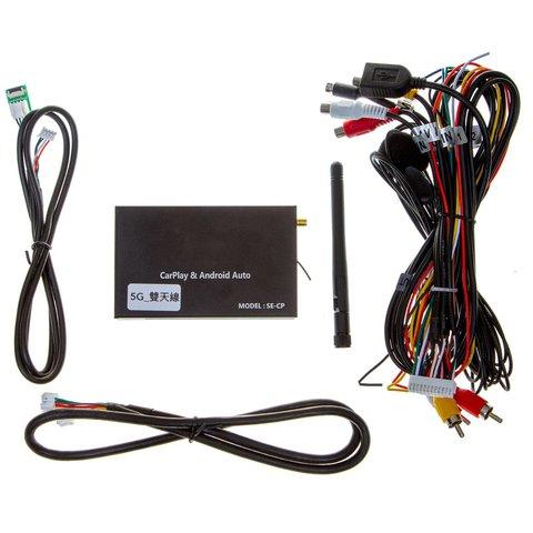 Універсальний безпровідний CarPlay і Android Auto адаптер з виходами AV, RGB, LVDS Прев'ю 2