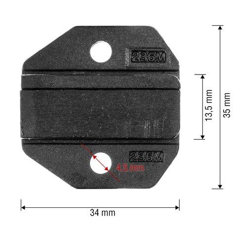 Матрица для кримпера Pro'sKit CP-236DM6 - Просмотр 2