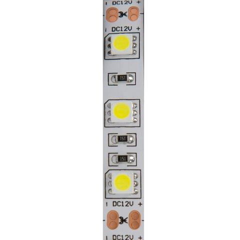 Світлодіодна стрічка SMD5050 (холодний білий, 300 світлодіодів, 12 В DC, 5 м, IP20) Прев'ю 1