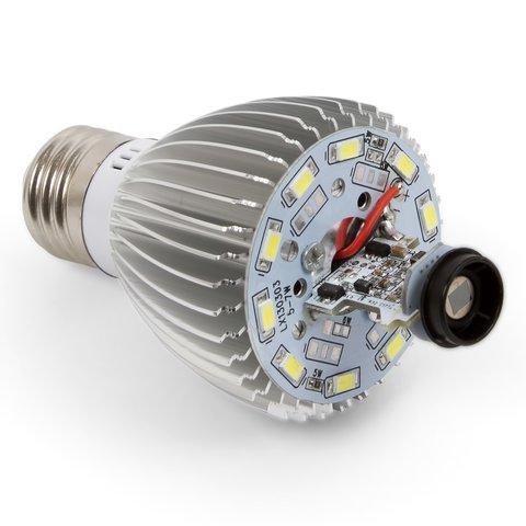 Світлодіодна лампа з ІЧ сенсором руху 5 Вт (холодний білий, 450 лм, Е27) Прев'ю 2