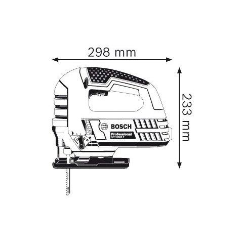 Електролобзик Bosch GST 8000 E - Перегляд 2
