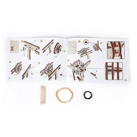 Механічний 3D-пазл Wooden.City Біплан - /*Photo|product*/