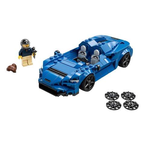 Конструктор LEGO Швидкісні перегони McLaren Elva 76902 Прев'ю 1