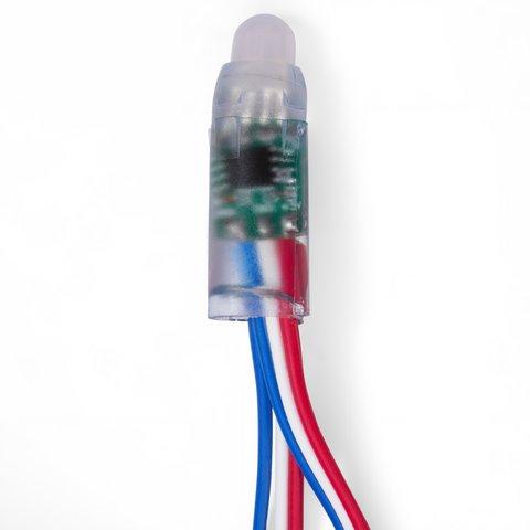 LED RGB Pixel Module (50 pcs., WS2811, DC 5 V, 12 mm, IP68) Preview 1